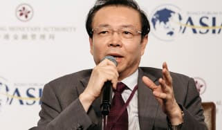 Lai Xiaomin, chairman of China Huarong Asset Management Co