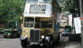 Old London bus © Alamy