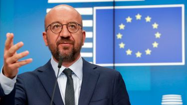 European Council president Charles Michel © OLIVIER HOSLET/POOL/AFP via Getty Images