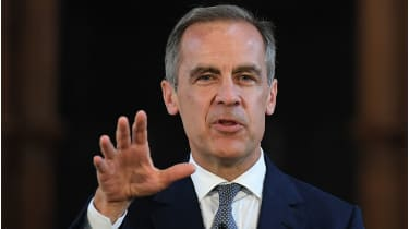 Outgoing Bank of England governor Mark Carney © Getty