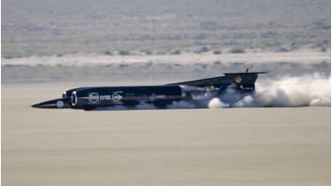 Thrust SSC in the Nevada desert © David Madison/Getty Images