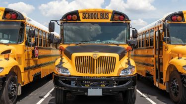 American school buses ©Getty Images