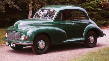 A 1949 Morris Minor ©National Motor Museum/Heritage Images/Getty Images