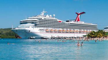 Carnival cruise ship © Getty Images/iStock