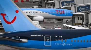 Tui planes at Manchester Airport © ANTHONY DEVLIN/AFP via Getty Images
