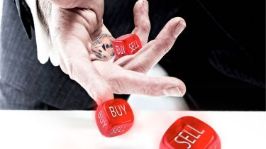 "Throwing ""buy"" and ""sell"" dice"