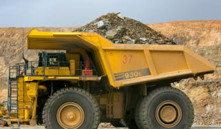 Mining dump truck © Paula Bronstein/Getty Images
