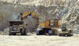 Gold mine machinery © Adrian Greeman/Construction Photography/Avalon/Getty Images