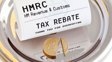 Tax rebate receipt © Getty Images