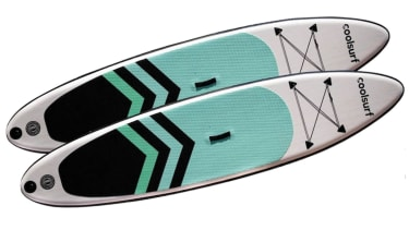 Inflatable paddleboard © CoolSurf