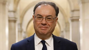 Andrew Bailey, governor of the Bank of England © Getty