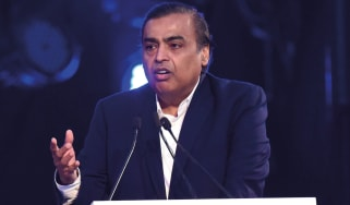 Mukesh Ambani © Subhankar Chakraborty/Hindustan Times via Getty Images