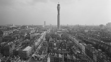 Post Office Tower, August 1965 © David Cairns/Express/Hulton Archive/Getty Images