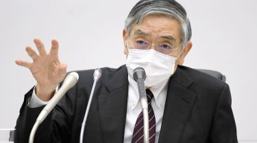 Bank of Japan Governor Haruhiko Kuroda © Kyodo News via Getty Images