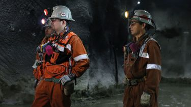 Miners in Chile