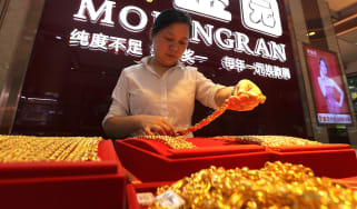 Chinese jewellery shop
