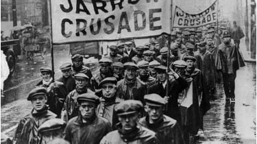 Jarrow Crusade marchers, 1936 © Keystone/Getty Images