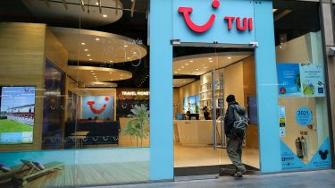 TUI travel shop in London © Dinendra Haria/SOPA Images/LightRocket via Getty Images