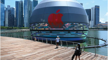 Singapore  Apple store © ROSLAN RAHMAN/AFP via Getty Images