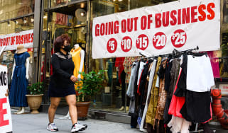 """Shop with a """"going out of business"""" sale"""