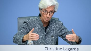 Christine Lagarde: tearing up the rule book © Getty