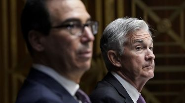 Steven Mnuchin and Jerome Powell