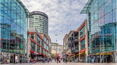 Bullring Shopping Centre Birmingham © Getty Images