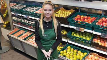 There have been signs of progress in M&S's food division