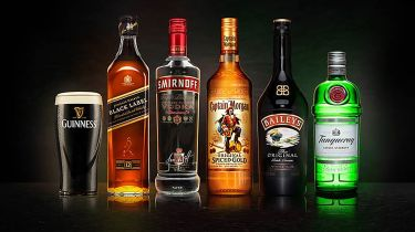 Diageo branded drinks