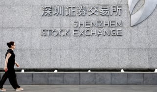 Shenzen stock exchange © VCG/VCG via Getty Images