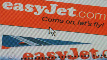 Easyjet website © Daniel Berehulak/Getty Images