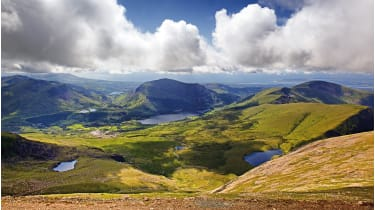 Mount Snowdon: the highest spot in the British Isles outside Scotland © Getty Images/iStockphoto