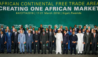 African Union leaders photoshoot