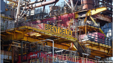 Brent Delta oil rig ©Ian Forsyth/Getty Images
