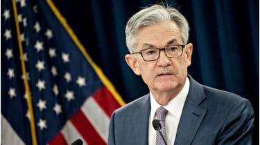 Federal Reserve chair Jerome Powell © Getty Images