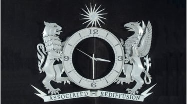 Associated Rediffusion logo and clock © SSPL/Getty Images