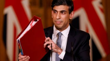 Chancellor Rishi Sunak holds press conference on 2021 Budget on March 3, 2021 in London, England