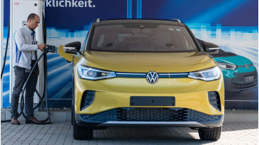 VW ID4 electric car © Jens Schlueter/Getty Images