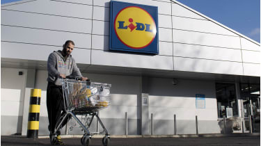 Competition from discounters has squeezed supermarkets in recent years© AFP via Getty Images