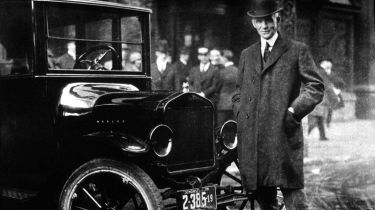 Henry Ford With His Model T © Getty Images