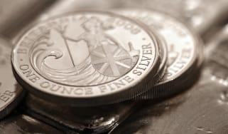 Silver coins © Chris Ratcliffe/Bloomberg via Getty Images