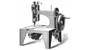 Isaac Merrit Singer's first sewing machine © Universal History Archive/Getty Images