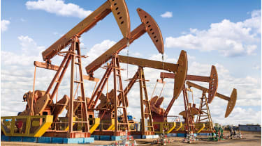 Plunging prices have closed two leveraged oil funds © iStockphoto