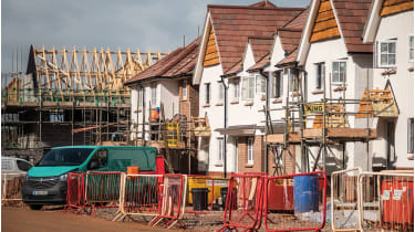 Houses under construction ©Matt Cardy/Getty Images
