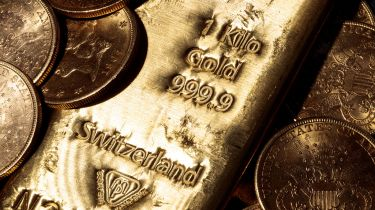Gold is rising against a strong US dollar