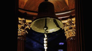 The Lutine bell © Bruno Vincent/Getty Images