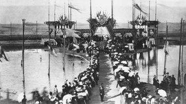 Opening ceremony of Suez Canal