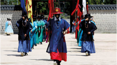 South Korean Imperial guards
