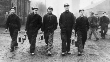 Bevin Boys at the Prince of Wales Colliery, Pontefract