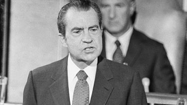 Richard Nixon © Wally McNamee/CORBIS/Corbis via Getty Images